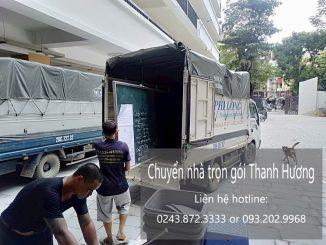 Chuyển nhà giá rẻ Hà Nội phố Hàng Bông