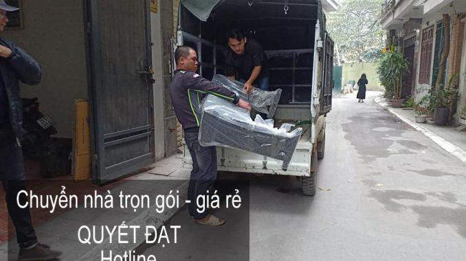 Dịch vụ chuyển văn phòng Hà Nội tại phố Trần Bình