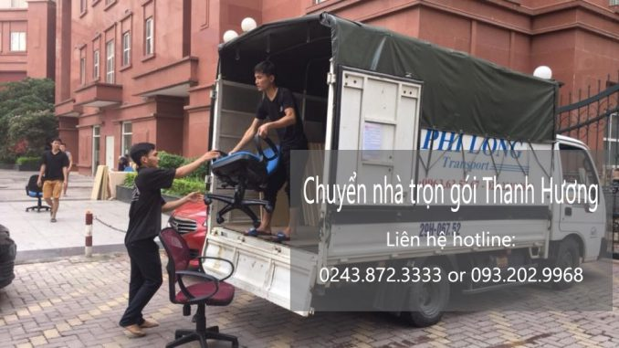 Dịch vụ chở hàng chất lượng Thanh Hương phố Bạch Mai