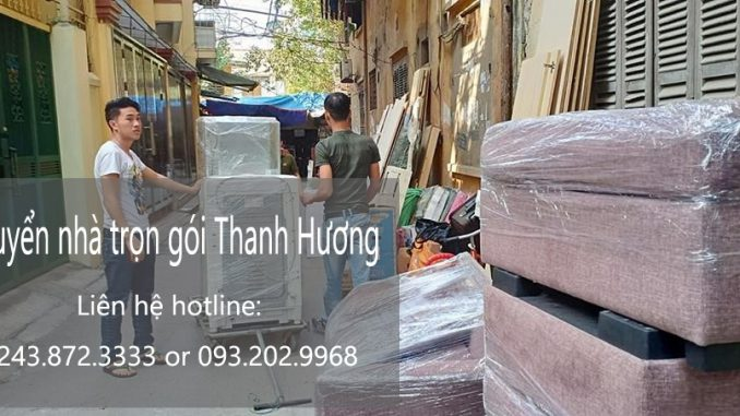 Dịch vụ chuyển văn phòng Hà Nội tại phố Cầu Diễn