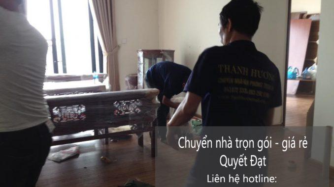 Dịch vụ chuyển văn phòng Hà Nội tại quận long biên