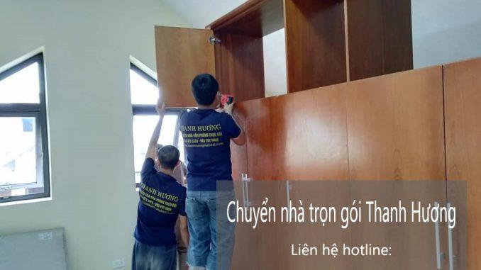 Dịch vụ chuyển văn phòng Hà Nội tại phường thạch bàn