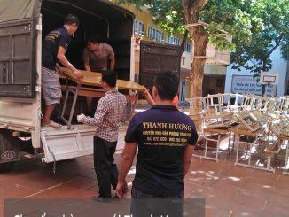 Dịch vụ chuyển văn phòng Hà Nội tại đường thái thịnh