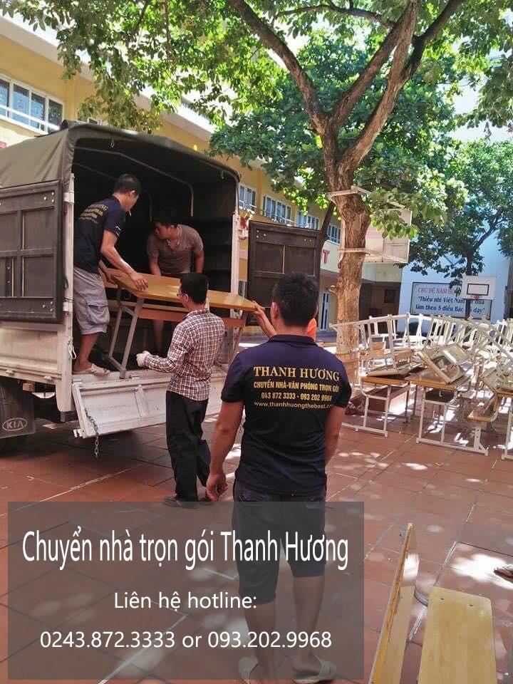 Dịch vụ chuyển văn phòng Hà Nội tại đường kẻ tạnh