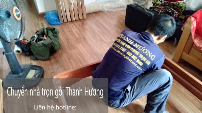 Dịch vụ chuyển văn phòng Hà Nội tại đường chu huy mân