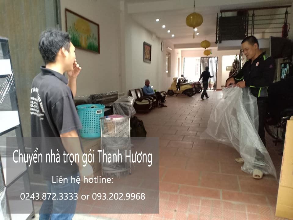 Dịch vụ chuyển văn phòng Hà Nội tại đường dương văn bé