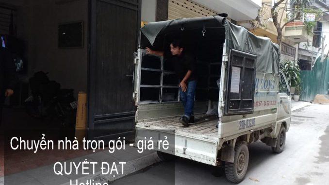 Dịch vụ chuyển văn phòng Hà Nội tại đường Vũ Quỳnh