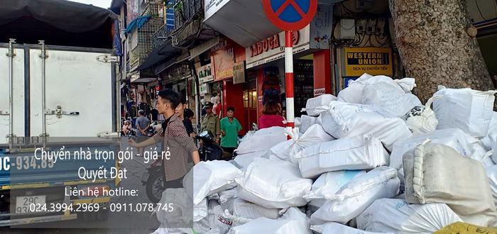 Dịch vụ chuyển văn phòng Hà Nội tại đường gia thượng