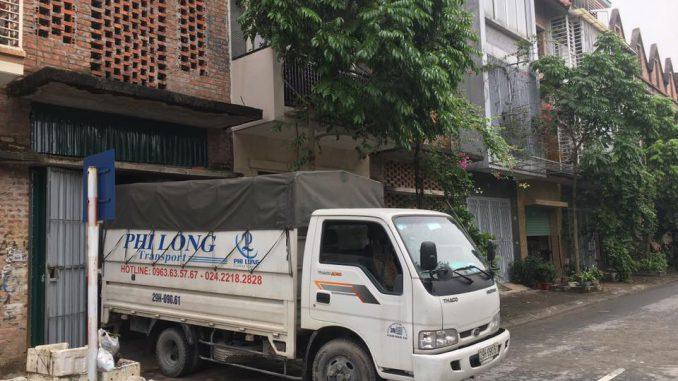 Chuyển nhà giá rẻ Thanh Hương phố Trần Bình