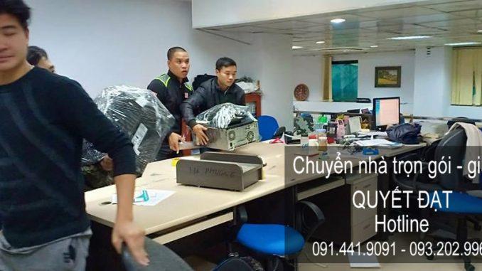 Dịch vụ chuyển văn phòng hà nội tại đường Đồng Dinh