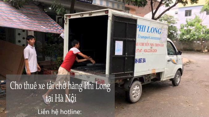 Dịch vụ chuyển văn phòng Hà Nội tại đường Mai Phúc