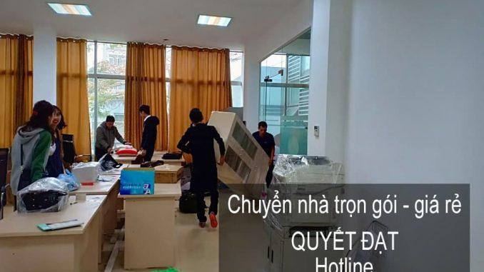 Dịch vụ chuyển văn phòng tại đường Vũ Xuân Thiều