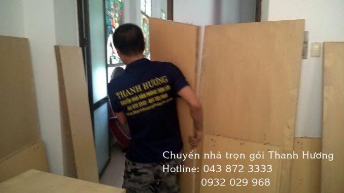 Chuyển văn phòng tại đường Lê Đức Thuận đi Hà Nam