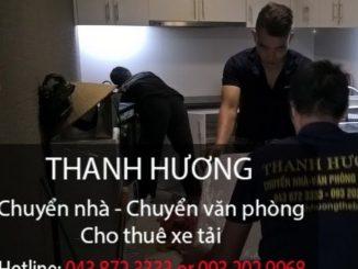 Chuyển văn phòng tại đường Đồng Dinh đi Hà Nam
